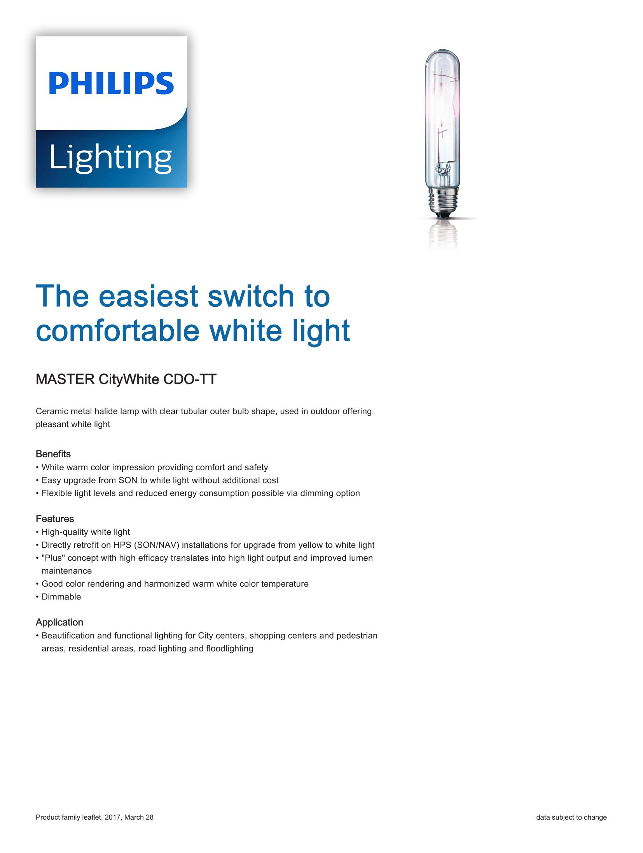 Philips CDO-TT Brochure