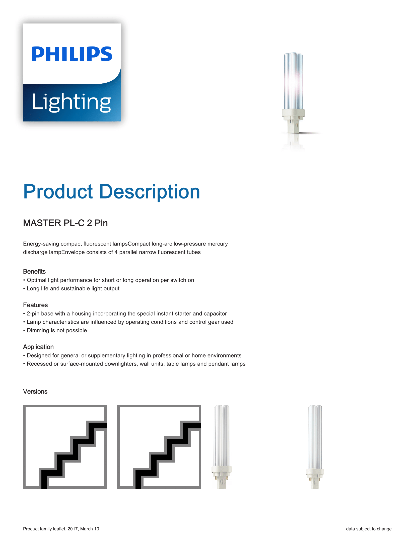 Philips PL-C 2P Brochure