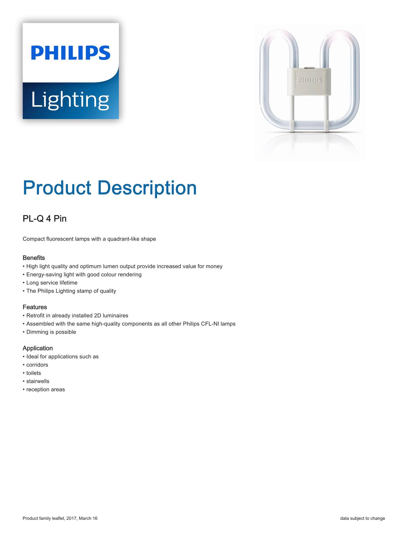 Philips PL-Q 4P Brochure