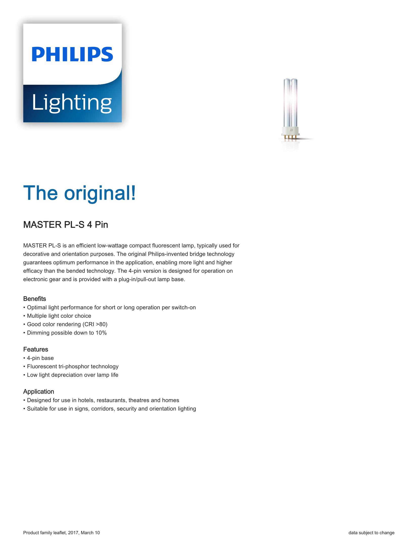 Philips PL-C 4P Brochure