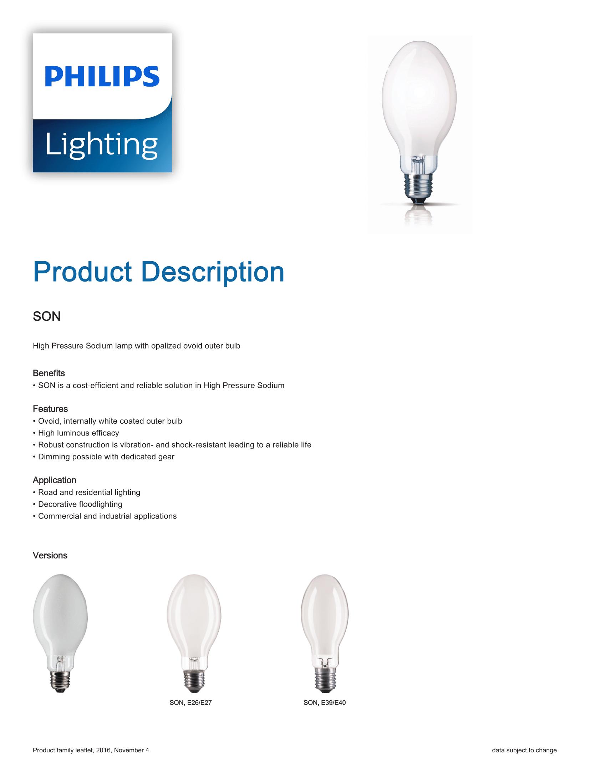 Philips SON Brochure