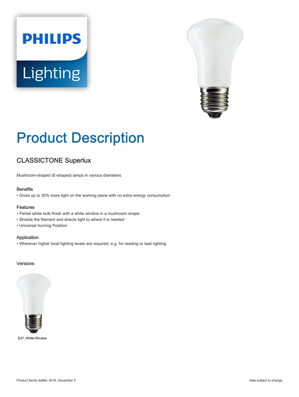 Philips Superlux Brochure