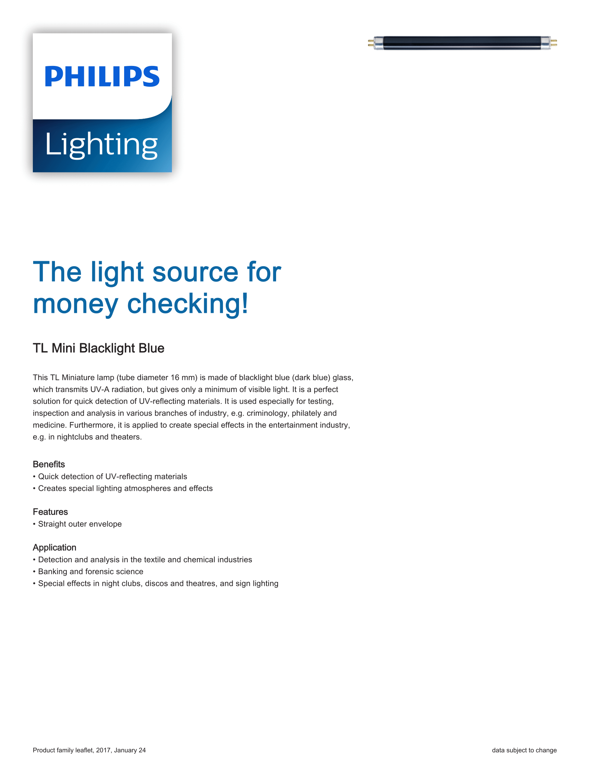 Philips TL Mini BLB Brochure